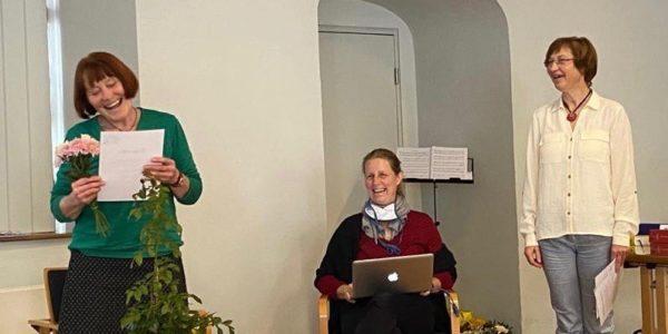 Dr. Maria Bormann und Dr. Silke Meisel sind aus unserem Vorstand ausgeschieden